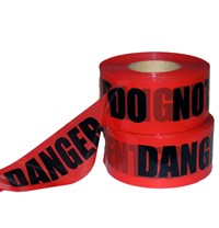 "3""x1000' Danger Do Not Enter Tape"