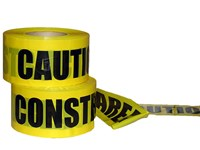 "3""x1000' Caution Construction Tape"