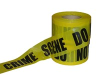 "3""x1000' Caution Crime Scene  Tape"
