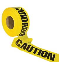 "3""x1000' Caution/Cuidado Tape"