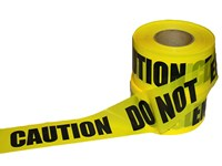 "3""x1000' Caution Do Not Enter Tape"
