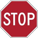"R1-1 30""x30"" Stop Sign"
