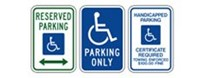 Handicapped Signs