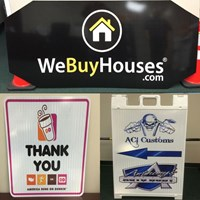 Custom Signs, Banners & Sponsor Signs