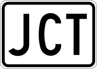 M2 Series Signs - Junction Signs