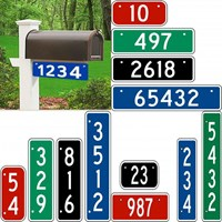 911 Address Signs