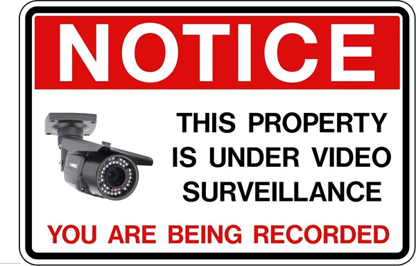 Traffic Signs Amp Safety In 26 30 Quot X24 Quot Video Surveillance